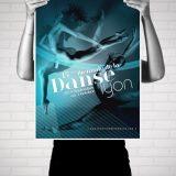 Biennale de la Danse |Poster by Artlinkz