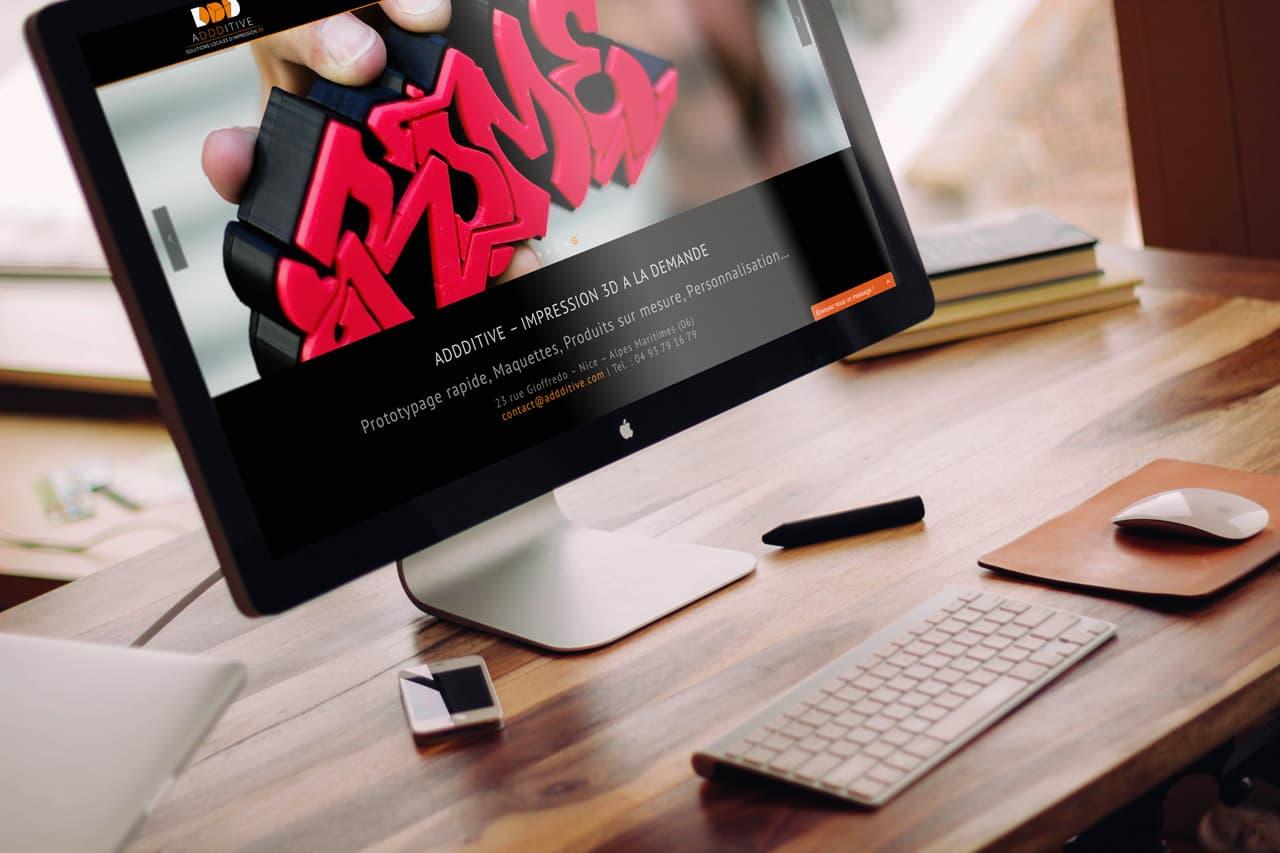ADDDITIVE.COM |Website by Artlinkz